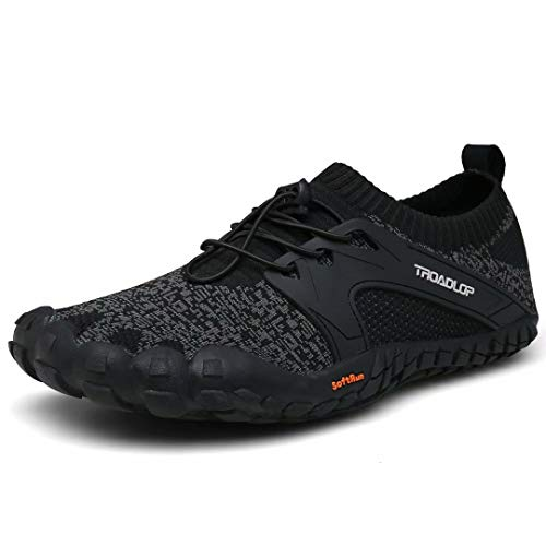 Tanloop Mens Cross-Trainer Trail Running Shoes Lightweight and Breathable Hiking Shoes for Men