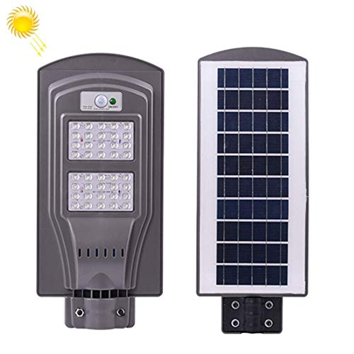 CKQ-KQ Outdoor Lighting 40W IP65 Waterdichte Radar Sensor + Light Control Solar Power Street Light, 40 LEDs SMD 3030 Energiebesparende Outdoor Lamp met 6V / 16W Solar Panel Solar Light Waterdichte Lamp