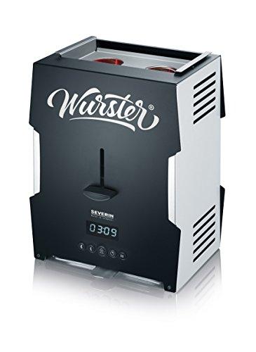 Severin Wurster - WT 5000, 2000 Watt, schwarz/silber