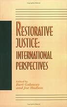 Restorative Justice: International Perspectives