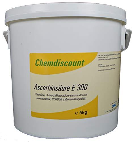 5kg Ascorbinsäure (Vitamin C) in Lebensmittelqualität E300, versandkostenfrei