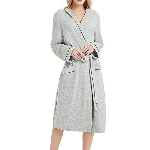 Pyjama Damen Nachthemd Schlafanzug Bademantel Frauen Warme Robe Frauen Winter Plüsch Verlängerte Schal Bademantel Home Kleidung Langarm Robe Mantel Braut Robe 4XL Beige