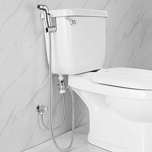 BLKykll Bidet Handbrause Sprayer,Toilette Bad Bidet Set -Rostfrei | Intimdusche - Rostfrei | Intimdusche - WC Brause Set