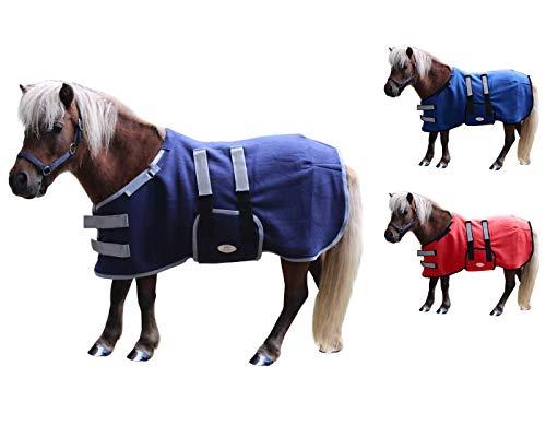 Derby Originals Polar-Fleecedecke für Fohlen und Mini-Pferdedecke, weich und atmungsaktiv, doppellagig, Keine Hardware-Vliesdecke, Medium (36-42