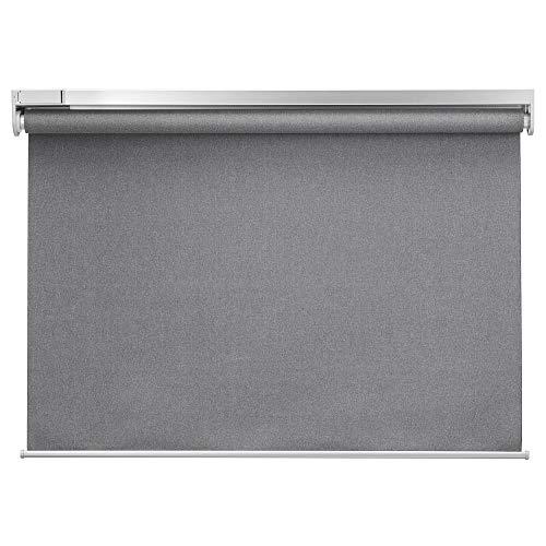 IKEA FYRTUR - Estor enrollable (120 x 195 cm), color gris