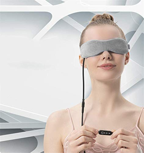 BDFA Electric Eye Massager, USB steam eye mask, Fast, Simple And Effective Treatment Of Blepharitis, with time and temperature control, Relieves The syndrome of dry eye