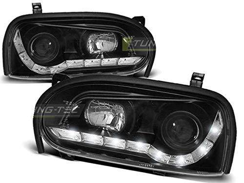 Shop Import Paire de Feux phares Golf 3 91-97 Daylight LED Noir 43