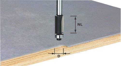 FESTOOL 491027Rand Trim Bit mit B HW 12,7mm