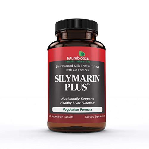 Futurebiotics Silymarin Plus Veg-Tablets, 120-Count