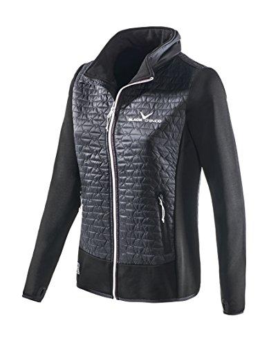 Black Crevice Damen Hybrid Jacket, schwarz, 38