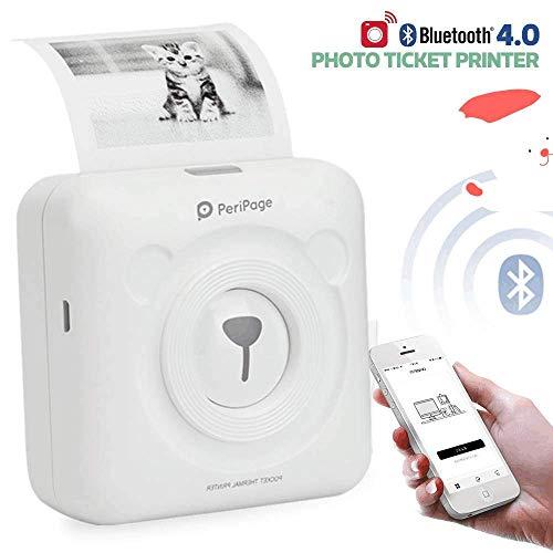 Peripage 2.0 Mini Impresora Etiqueta Portátil Bluetooth