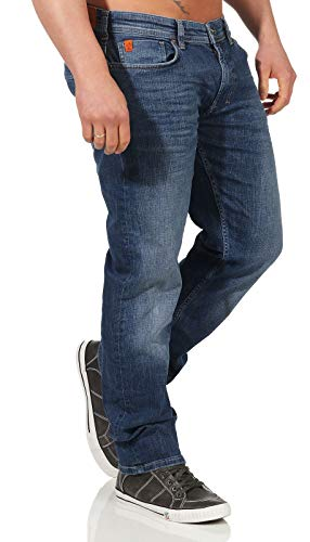 M.O.D Miracle of Denim Herren Jeans Thomas Comfort,Nelson Blau,34W / 34L