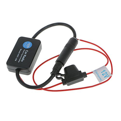 MagiDeal Booster Amplificateur D'antenne De Signal Voiture Automobile Radio Arial Am / Fm