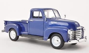 Chevrolet 3100, metallic-dark blue, 1953, Model Car, Ready-made, Welly 1:24