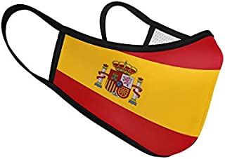 Mascarilla de Tela Homologada Reutilizable Bandera de España Completa