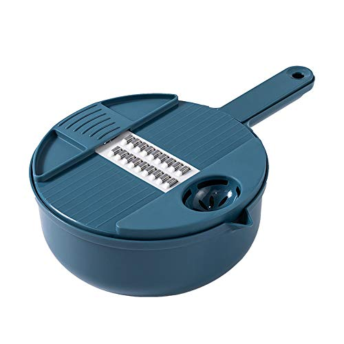 Picadora de verduras, cortador de verduras multifuncional, cortador de verduras, picadora de alimentos manual, pelador, almacenamiento de filtros
