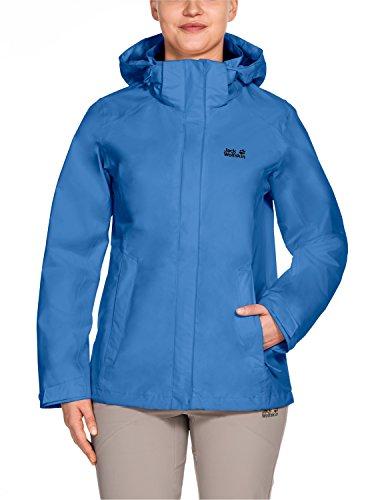 Jack Wolfskin Kinder Seven Lakes Jacket Wetterschutzjacke, Wave Blue, L