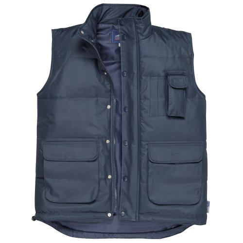 Portwest Classic Bodywarmer Jacket / Workwear (L) (Black)