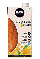 Raw Pressery Almond Milk - Mango Tetra Pack, 1000 ml