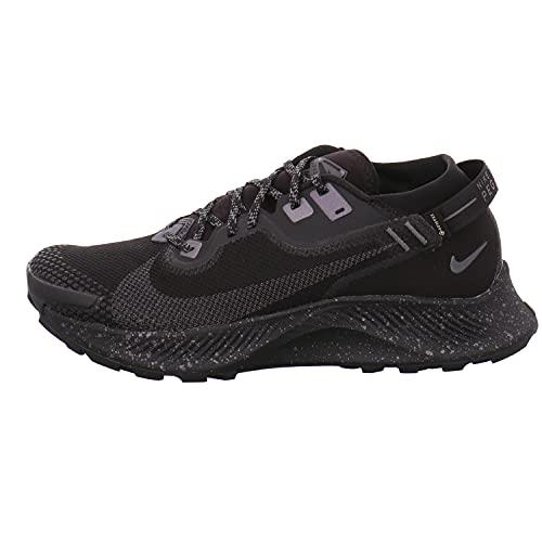 Nike Pegasus Trail 2 GTX, Zapatillas para Correr Hombre, Black Iron Grey Mtlc Dark Grey, 43 EU