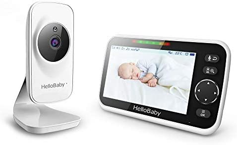 Video Baby Monitor with Camera and Audio 5 Color LCD Screen HelloBaby Monitor Camera Infrared product image