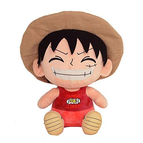 xHxttL One Piece Plüschtier, 30cm Ruffy Tony Chopper Sanji Trafalgar Gesetz Gefüllte Plüschpuppe Spielzeug Anime Puppe Geschenk für Kinder Jungen Mädchen Erwachsene