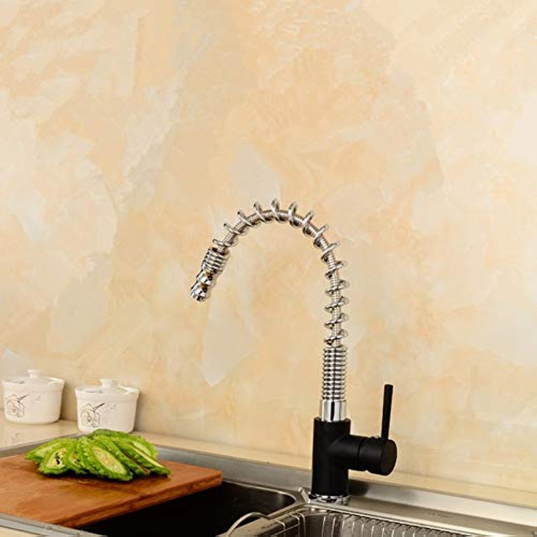 Waschtischarmaturen Bleifrei Rotierenden Heien Und Kalten Zugfeder Küchenarmatur Kupfer Spüle Ablassen Spüle Wasserhahn
