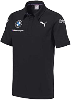 BMW Motorsports Dark Anthracite Gray Men's Team Polo Shirt