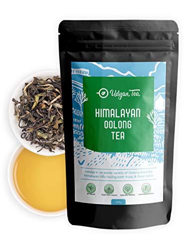Udyan Tea Himalayan Oolong Tea, 100g (40 Cups), 100% Natural...
