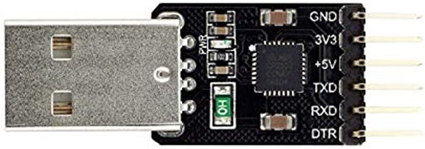 Electronic Module USB-TTL UART Serial Adapter CP2102 5V 3.3V USB-A - products that work with official boards 5Pcs