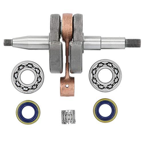 Accesorio de sierra de cadena de estructura estable Kit de sellos de aceite del cigüeñal 100% nuevo Acero de alta dureza para mejorar el rendimiento del motor