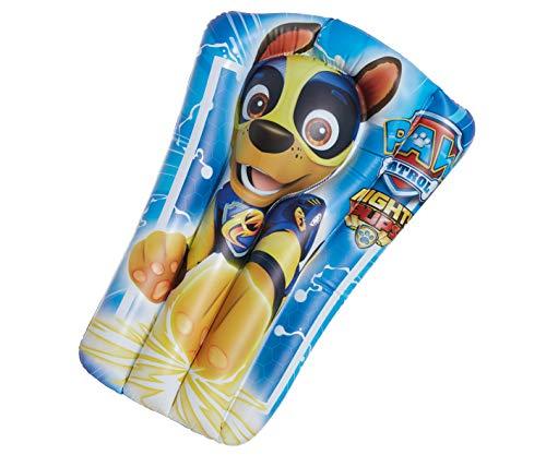 Smart Planet Materassino ad aria Paw Patrol Chase – Materasso per bambini ad acqua – Materasso gonfiabile – per piscina – ca. 65 x 40 cm