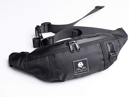 Fanny Pack for Men Women Waist Bag Belt Bag for Travel or Running Polyester Water Resistant product image