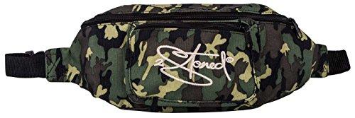 2Stoned Hüfttasche Bauchtasche Retro mit Stick Classic Logo in Camo für Herren und Jungen