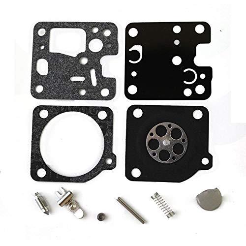 Othmro - Kit de reconstrucción de carburador de carburador RB-107 para Echo ES230 ES231SRM-200 HC-200 de repuesto para motosierra, accesorios para cortacésped de aire libre