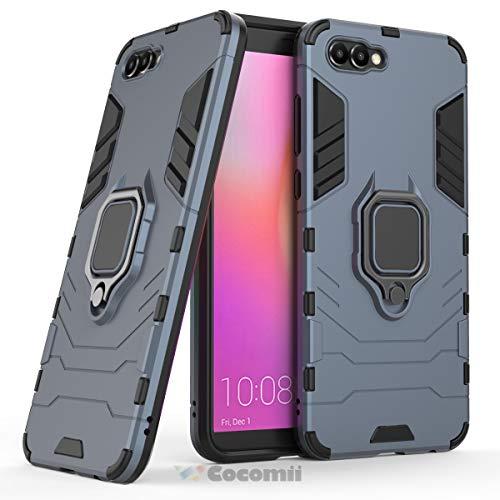 Cocomii Black Panther Armor Huawei Honor View 10/Honor V10 Hülle NEU [Strapazierfähig] Ring Ständer [Funktioniert Mit Magnetischer Autohalterung] Case Schutzhülle for Huawei Honor View 10 (B.Black)