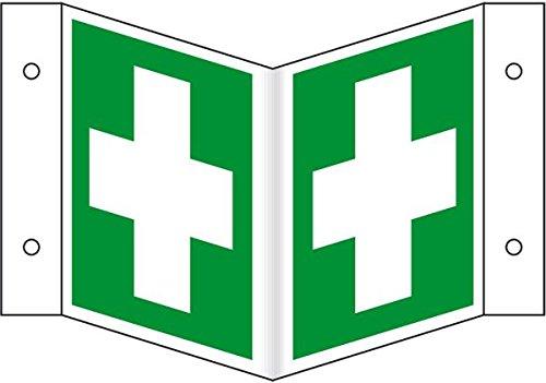 LEMAX® Rettungs-Nasenschild Erste Hilfe, ASR/ISO, Kunststoff, 200x200mm