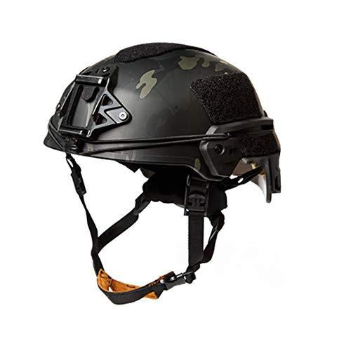 Danoensit Outdoor Ballistic Helmet Military Wargaming Accessories Tactical Airsoft Helmet MCBK 57cm-61cm
