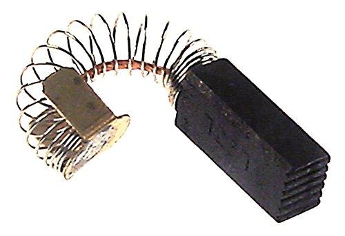 Fimar Kohlebürste für Mixer FM3 rechteckig Breite 8mm Höhe 6mm Länge 18mm
