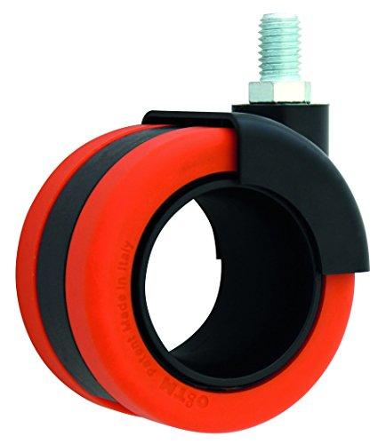 HSI 261210.0 Design-Möbelrollen mit Gewindestift Nylon
