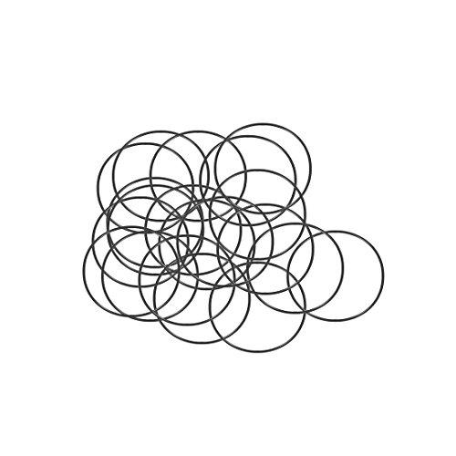 sourcing map 20pcs O-Ringe Nitrilkautschuk Gummi 26mm x 28mm x 1mm Dichtungsringe Dichtung DE de