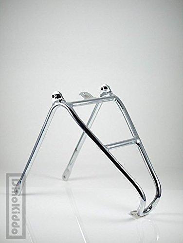 Dino Kiddo Aluminum chrome Q version rear rack electroplated glossy for Brompton Folding Bike