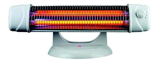 Estufa baño - Radiador electrico 1200w – radiadores infrarrojos con pie, de...