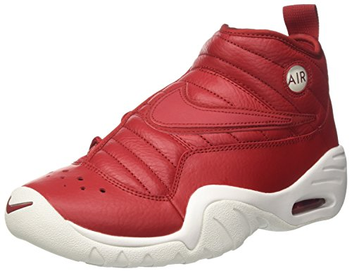 Nike Men's Air Shake Ndestrukt Basketball Shoes (Gym Red/Gym Red-Summit White, Numeric_8_Point_5)
