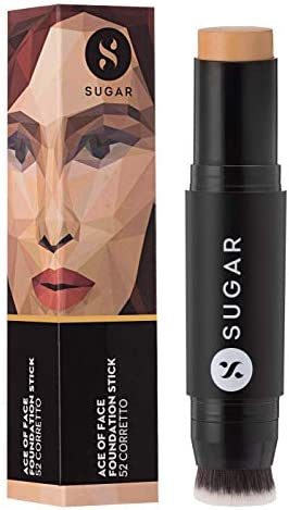 SUGAR Cosmetics Ace Of Face Foundation Stick for Full Coverage Waterproof Matte Finsh Makeup product image