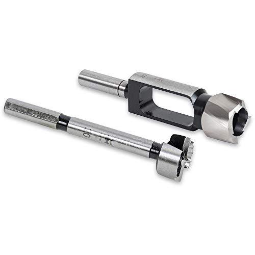 FISCH Wave Forstner and Premium Plug Cutter Set - 20mm