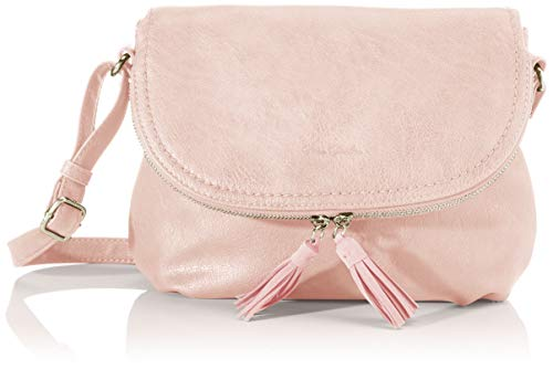 TOM TAILOR bags LARI Damen Umhängetasche M, light rose, 26,5x5x21