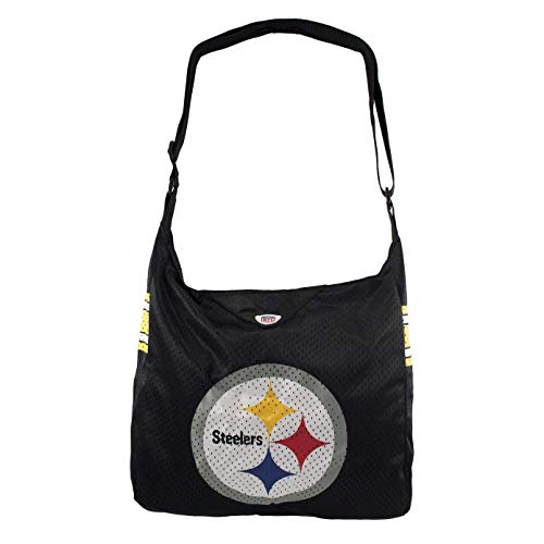 """Littlearth Womens Team Jersey Tote Made from Authentic Jersey Material, 15"""" H x 14"""" W x 4"""" D Team Color"""