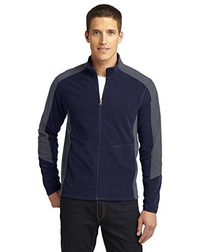 Port Authority Men's Colorblock Microfleece Jacket