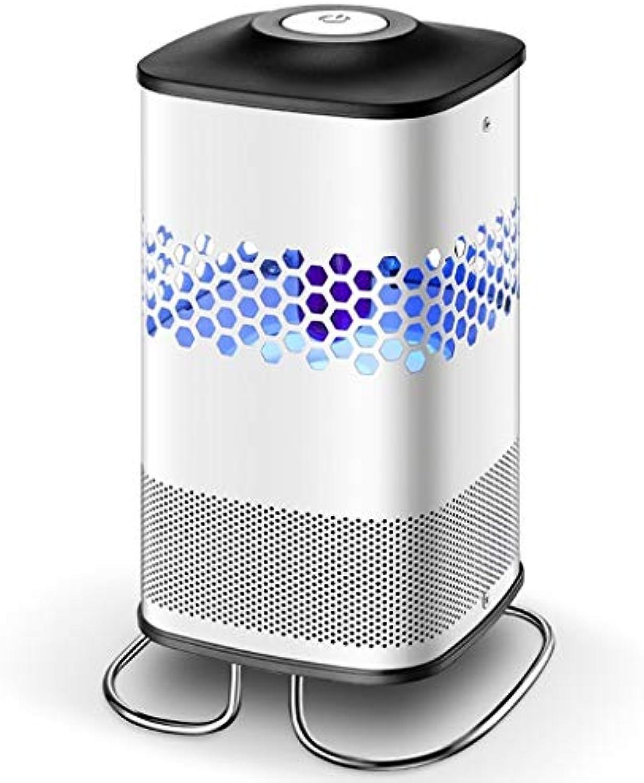 Stone77 Moskito-Lampen-Ausgangs-USB-Schnittstelle zylinderfrmiger ABS-Material-Antrieb, um Moskitos zu tten Weies Schwarzes
